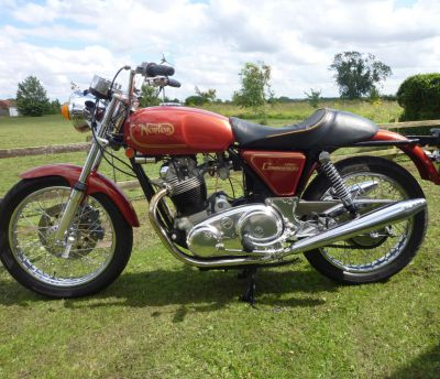 E-Starter conversion kit for Norton Commando MKII-MKIIA